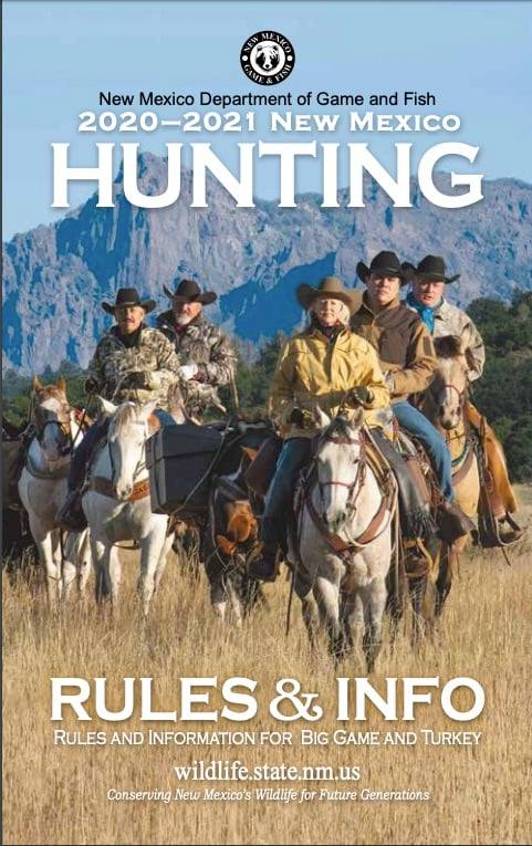 New Mexico 2020-2021 Hunting Rules and Information